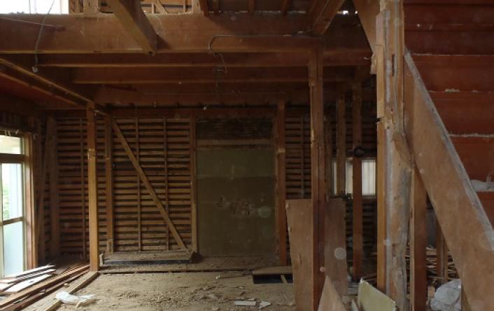 ③建物内部の解体