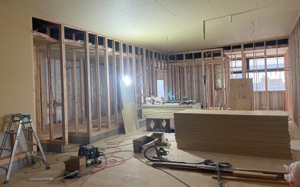 ②改修工事 木工事