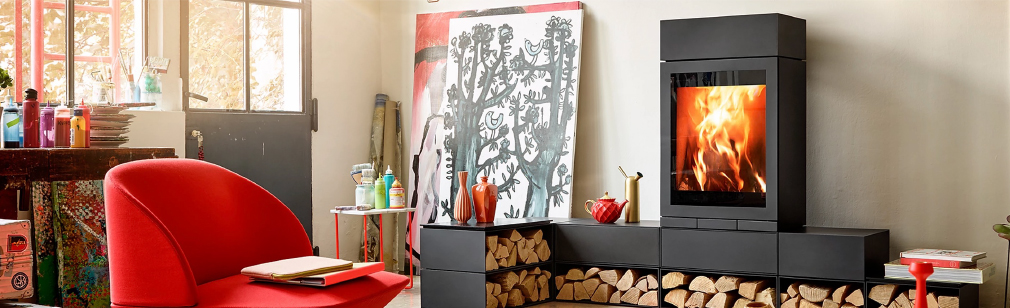 家具薪ストーブ イメージ